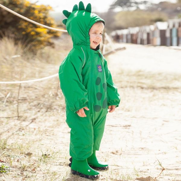Buzo Impermeable Bebé y Niño Dinosaurio