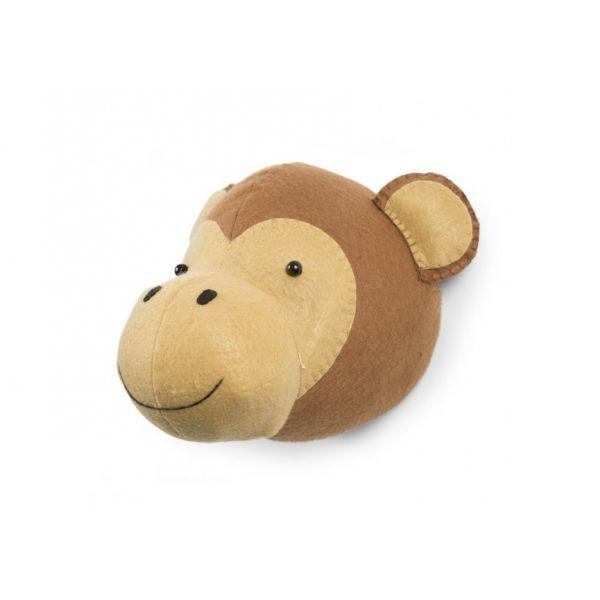 Cabeza Mono Decoración Pared