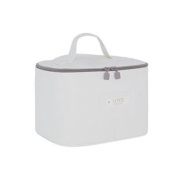 Cambrass - Bolso Neceser Mini Swarovski blanco
