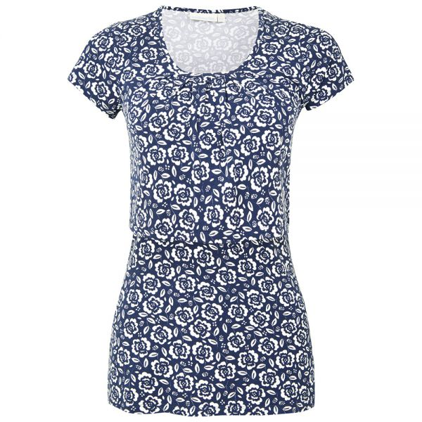 Camiseta de Lactancia Navy Floral
