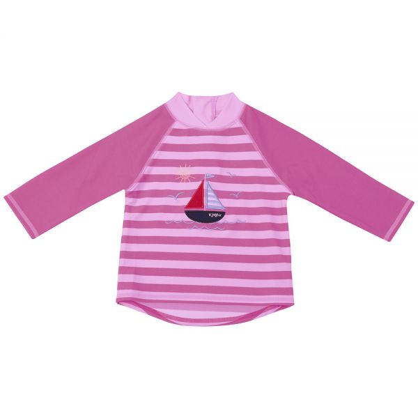 Camiseta de Protección Solar para Niñas Veleros Rosa