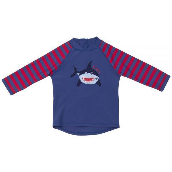 Camiseta Protección Solar Bebé y Niño Tiburón Feroz