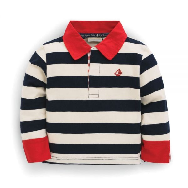 Camiseta Cuello Polo Marinera