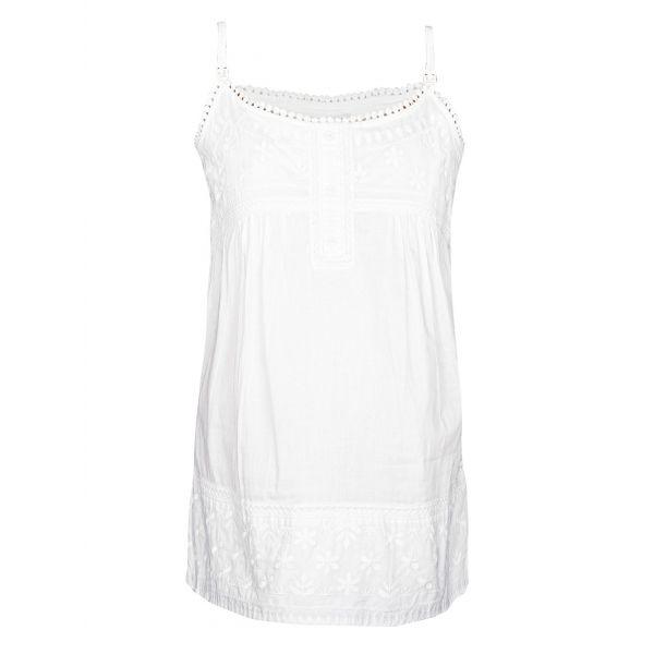 Camiseta Pijama Premamá y Lactancia Blanca