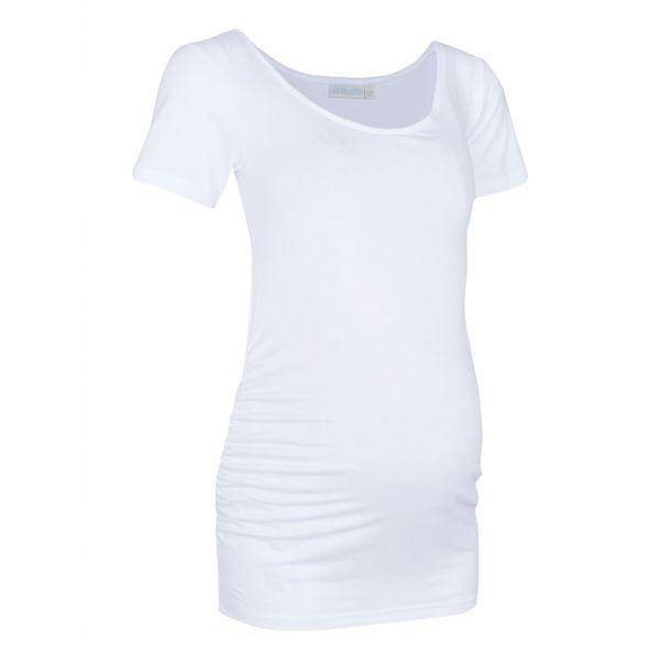 Camiseta Premamá Cuello Redondo