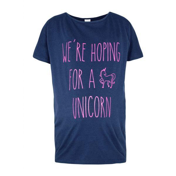 Camiseta Premamá Unicornio