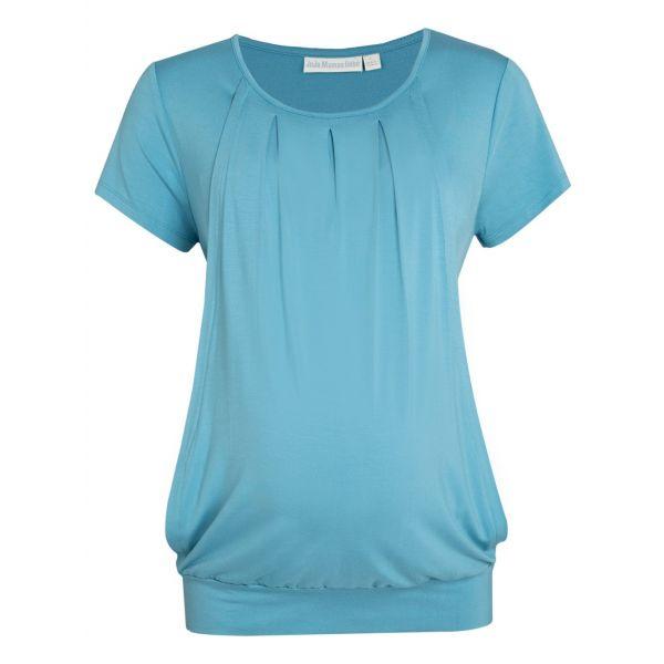 Camiseta Premamá y Lactancia Plisada