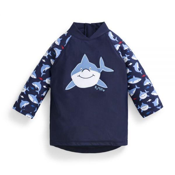 Camiseta Protección Solar Bebé y Niño Tiburón