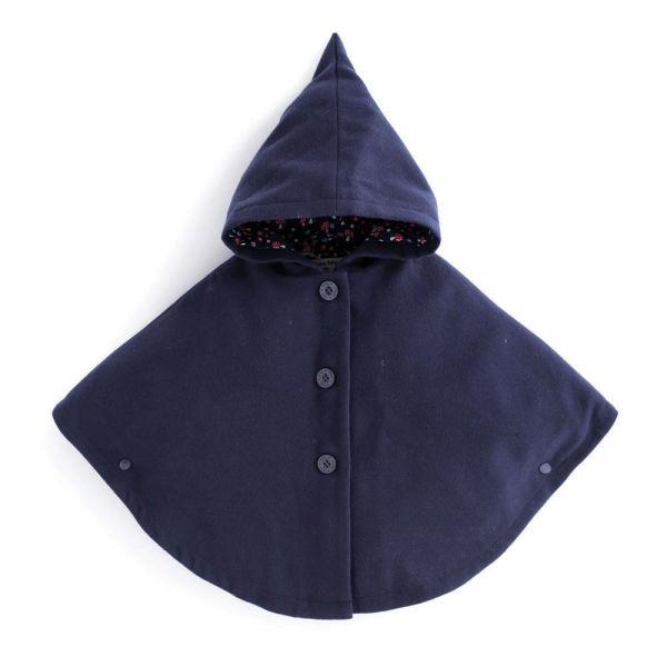Capa Azul para Niña - JojoMamanBebe