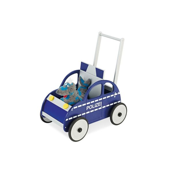 Carrito Andador de Madera Policía - Pinolino