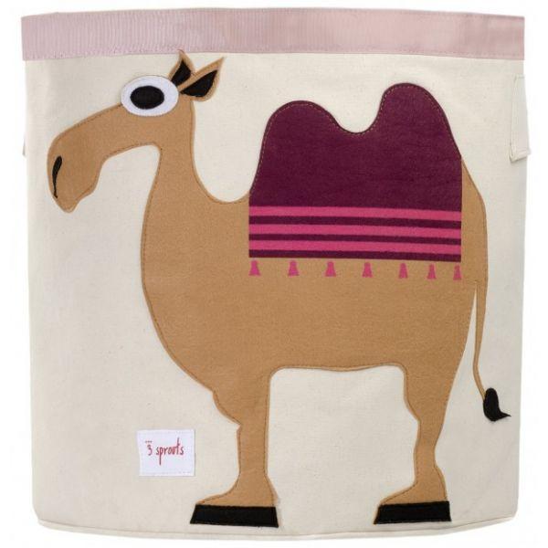 Cesta para Juguetes Camello de 3 Sprouts