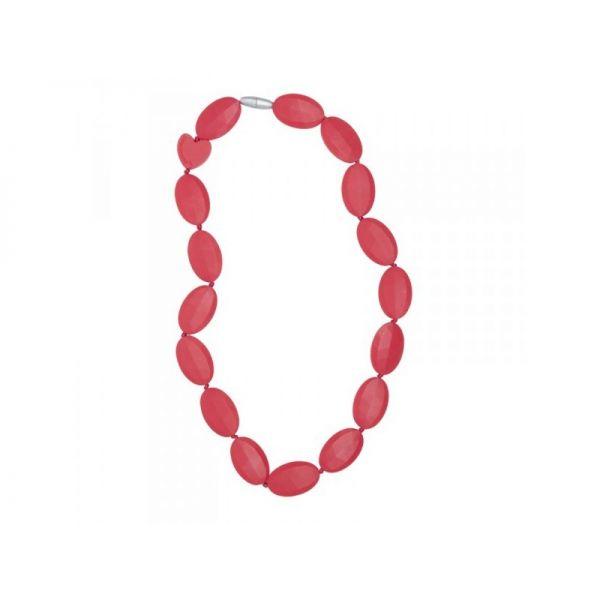 Collar Mordedor Bridget Rojo de Smartmama