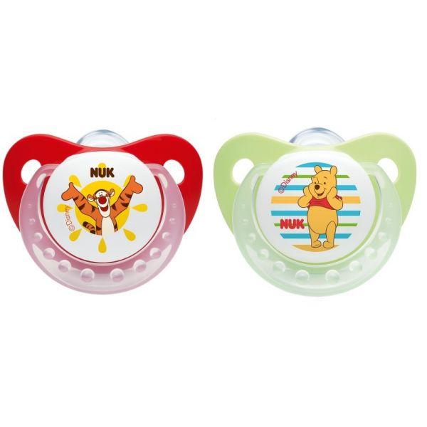 Chupete de Silicona NUK Winnie The Pooh - Pack 2