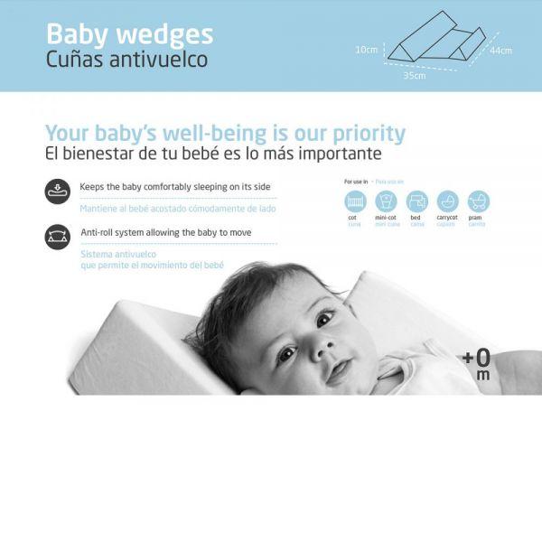 Cojín Antivuelco para Bebé