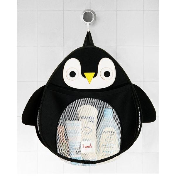 Colgador de Baño Pingüino - 3 Sprouts