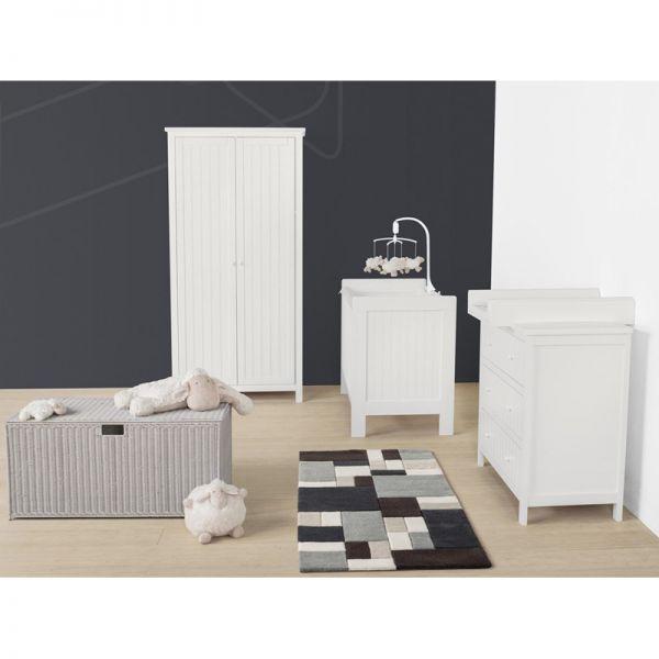 Cuna Camille de la marca Quax en color Blanco