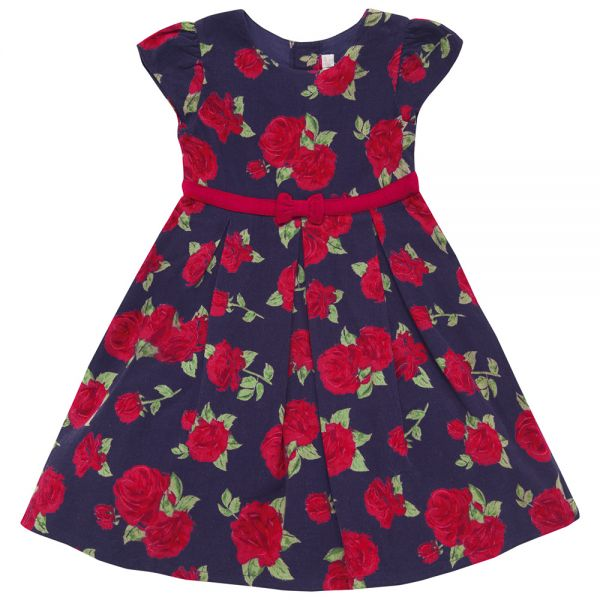 Vestido de Niña Rosas