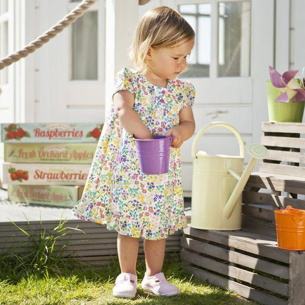 Vestido para Niñas - Estampado Flores Silvestres