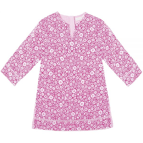 Vestido Kaftan para Niña - Color Rosa
