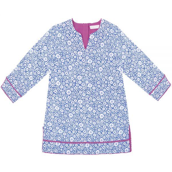 Vestido Kaftan para Niña - Color Azul