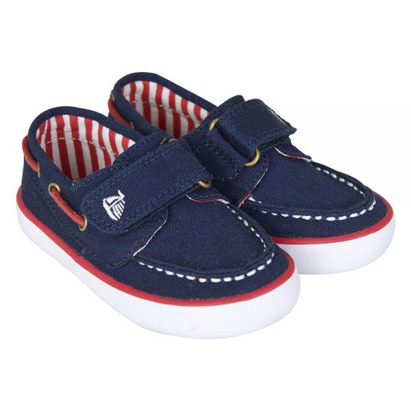 Zapato Náutico de Lona para Niño y Bebé