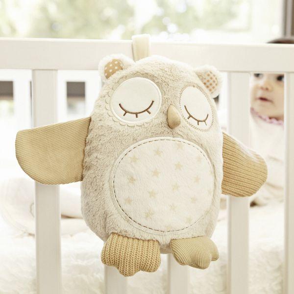 Peluche de Ayuda al Sueño de Bebés Buho de Cloud B