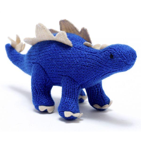 Amigurumi Dinosaurio Azul