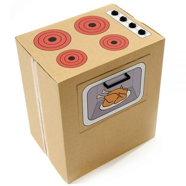 Cocinita de Cartón