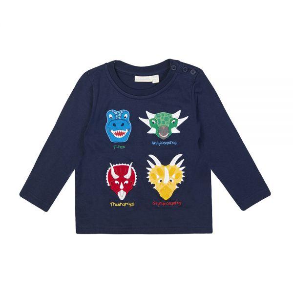 Camiseta de Niño - 4 Dinosaurios