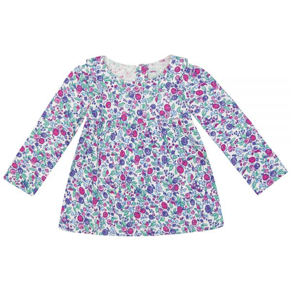 Camiseta corte Blusa Floral