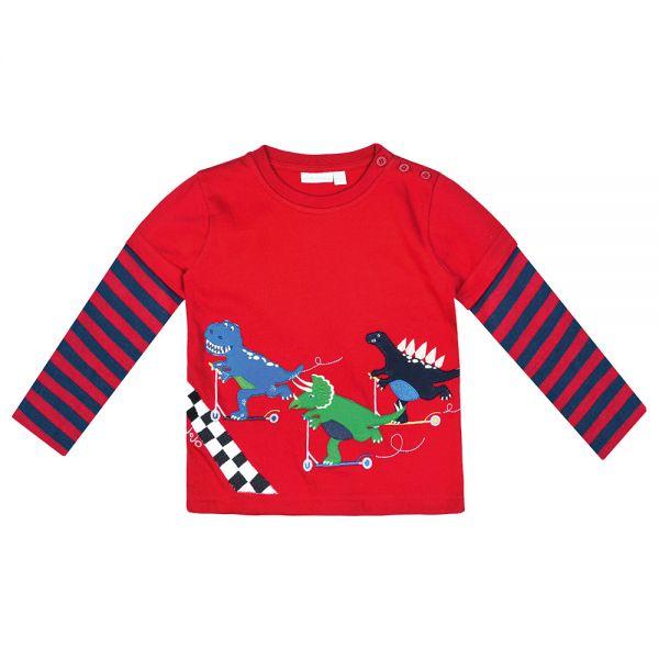 Camiseta Dinosaurios en Scooter