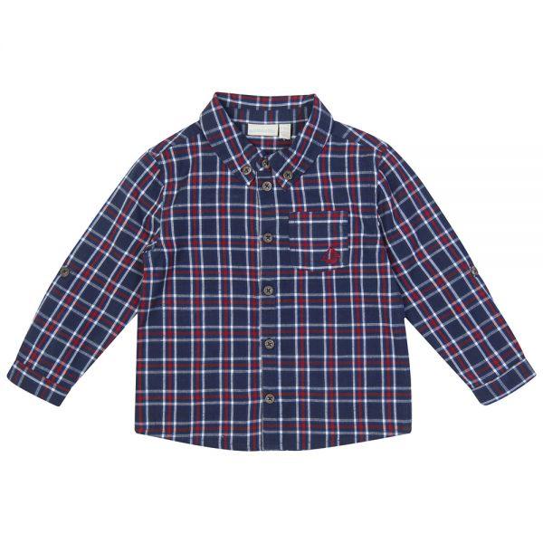 Camisa De Niño a Cuadros