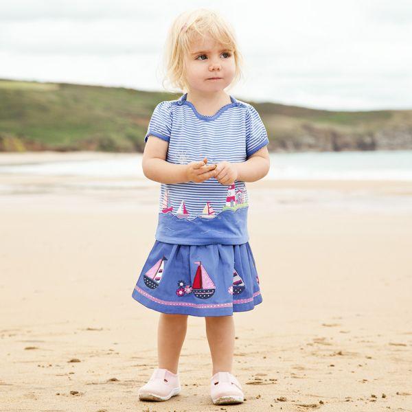 Falda de Niña Veleros