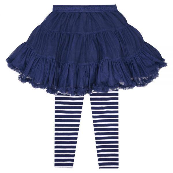 Falda de Niña Tutu Azul