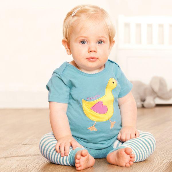 Camiseta de Bebé Patito