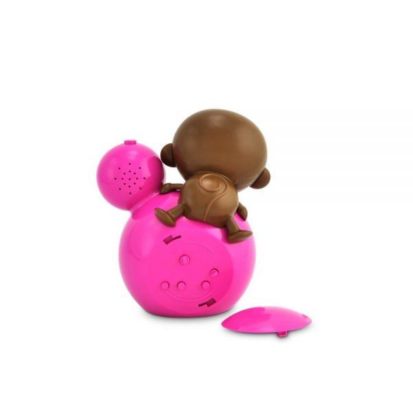 Despertador de Niños y Bebés de BabyZoo Momo en Color Rosa
