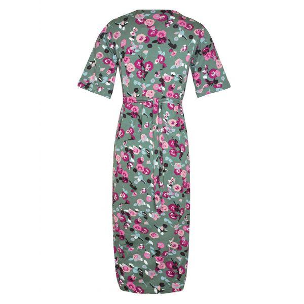 Vestido de Embarazo y Lactancia Kimono Khaki