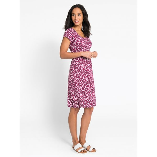 Vestido de Embarazo y Lactancia Beaujolais Floral