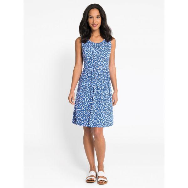 Vestido de Embarazo y Lactancia Blue Floral