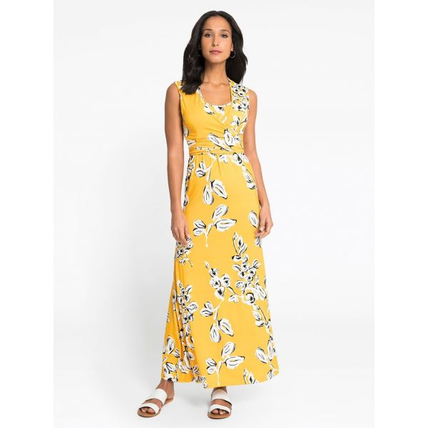 Vestido Embarazo y Lactancia Maxi Dress Yellow