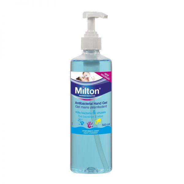Gel de Manos Anti bacteriano Milton - 500 ml
