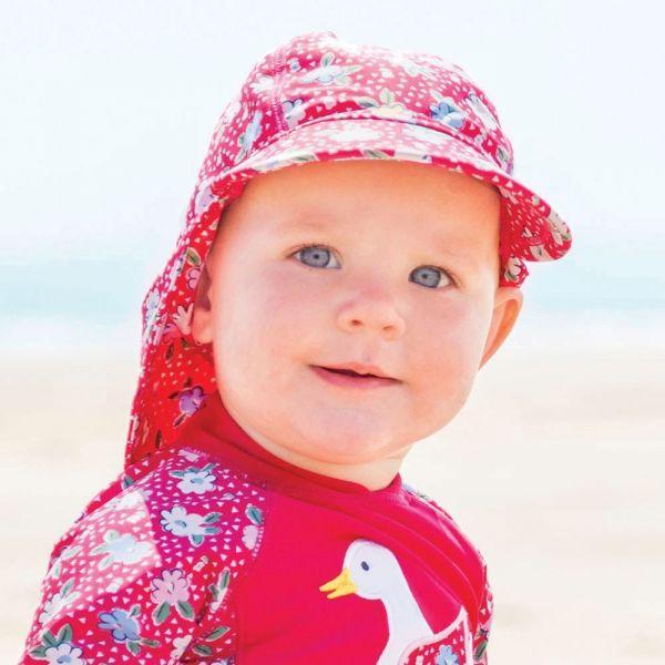 Gorra Protectora Solar Bebés y Niños