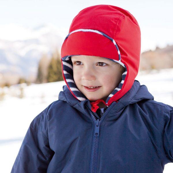 Gorro Impermeable y Polar para Bebés y Niños