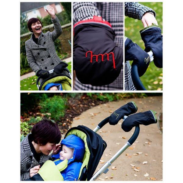 Manoplas Mummy Mitts para sillas de paseo, ¡son las originales!