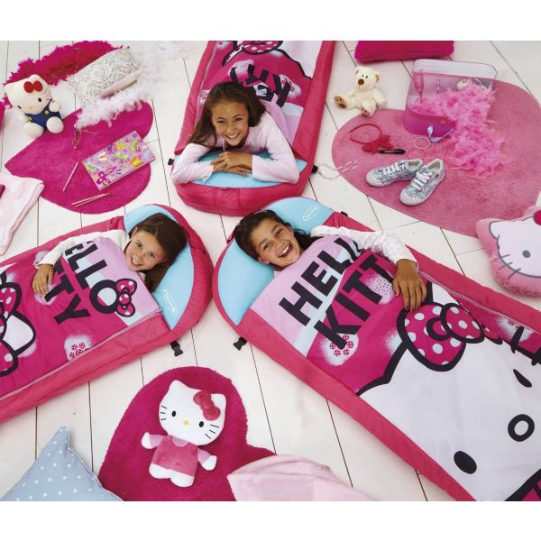 Cama Hinchable Infantil Hello Kitty - Tamaño  Grande