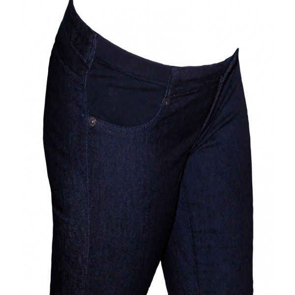 Jegging Premamá Elásticos Color Denim