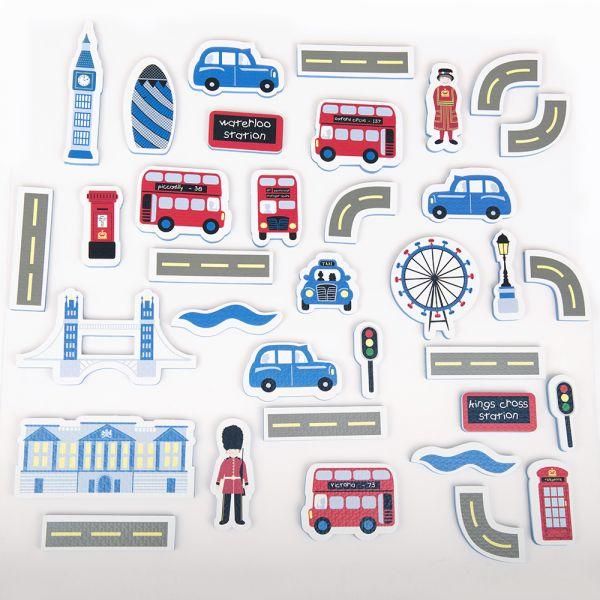 Juguete de Baño para niños Flotante Calles de  Londres