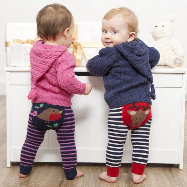 Leggings para Niña Estampado Petirrojo