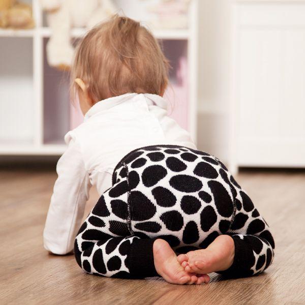 Leggings para Niños Gruesos Estampado Vaca
