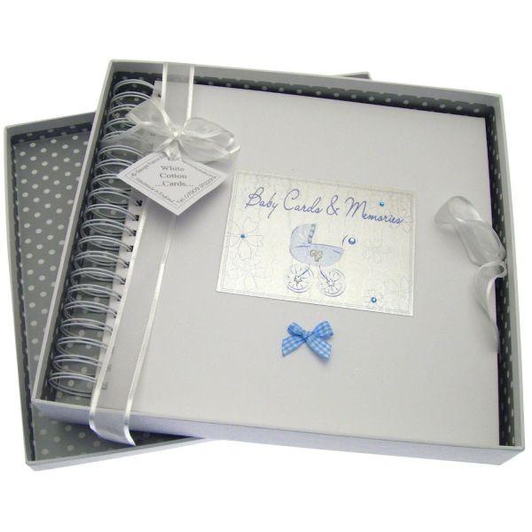 Libro de Recuerdos del Bebé - Color Azul